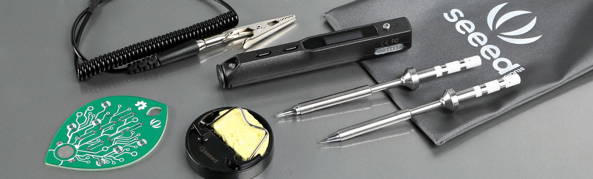 SEEED Mini Soldering Iron Deluxe Kit