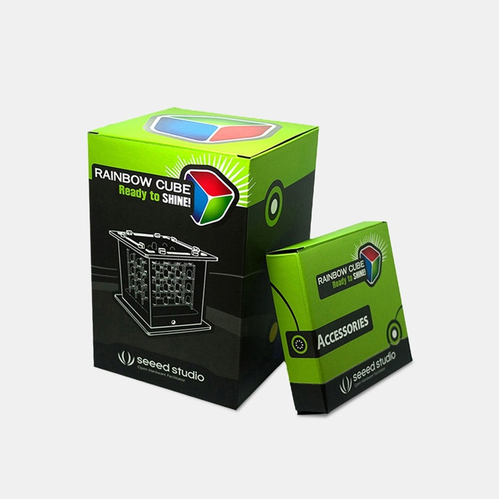 SEEED Rainbow Cube Kit RGB 4 x 4 x 4