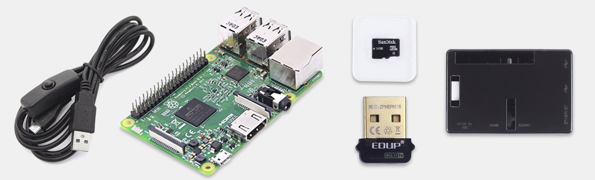 Seeed Raspberry Pi 3 B w/ Starter Kit