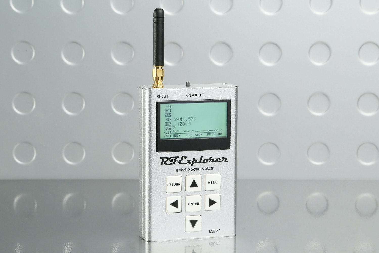 Seeed RF Explorer 2.4G Spectrum Analyser