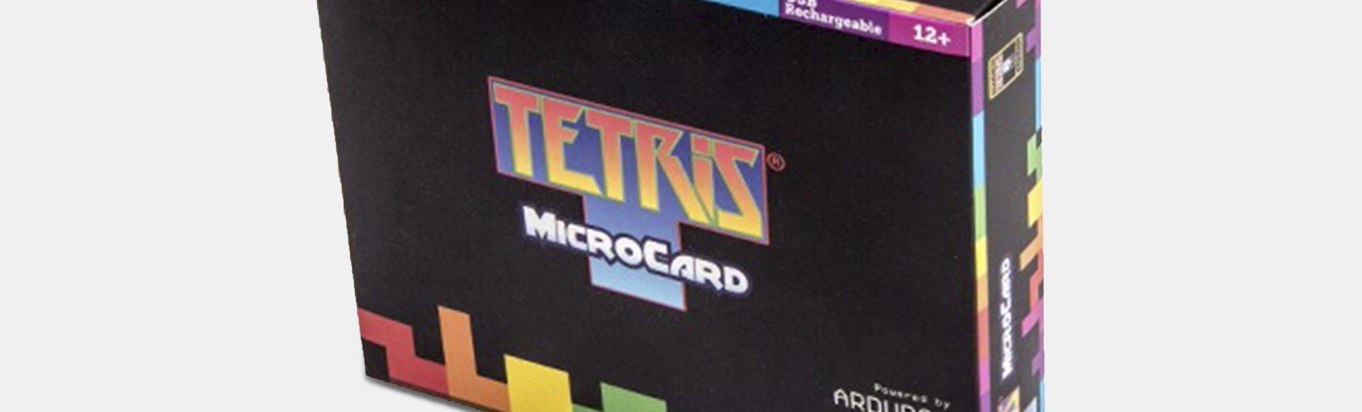 Seeed Tetris Arduboy MicroCard