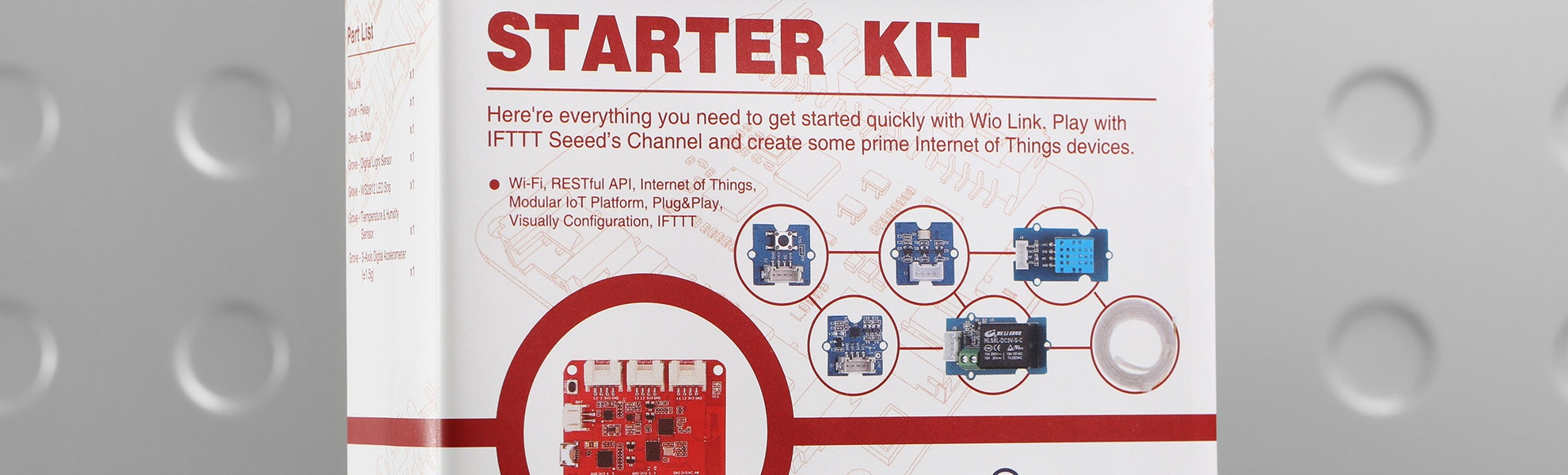 SEEED Wio Link Starter Kit for IoT