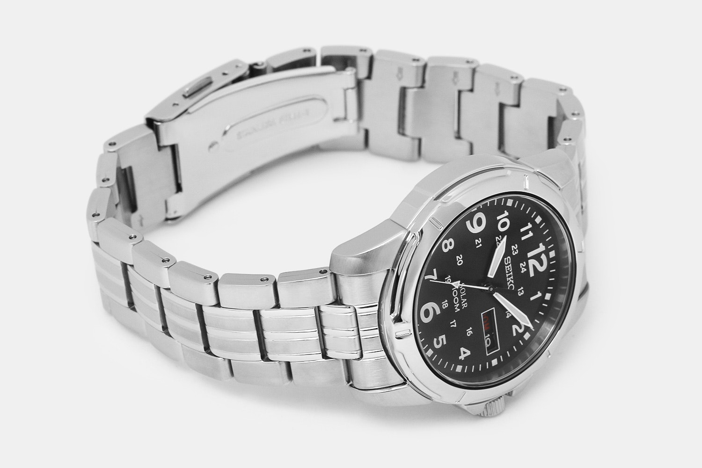 Seiko Black Solar Watch