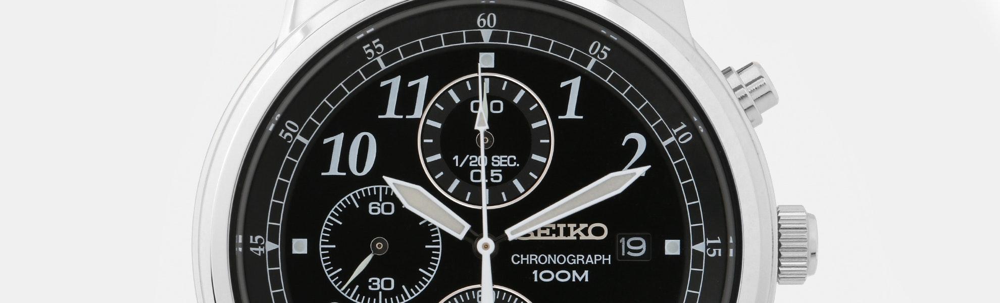 Seiko Classic Chronograph Watch