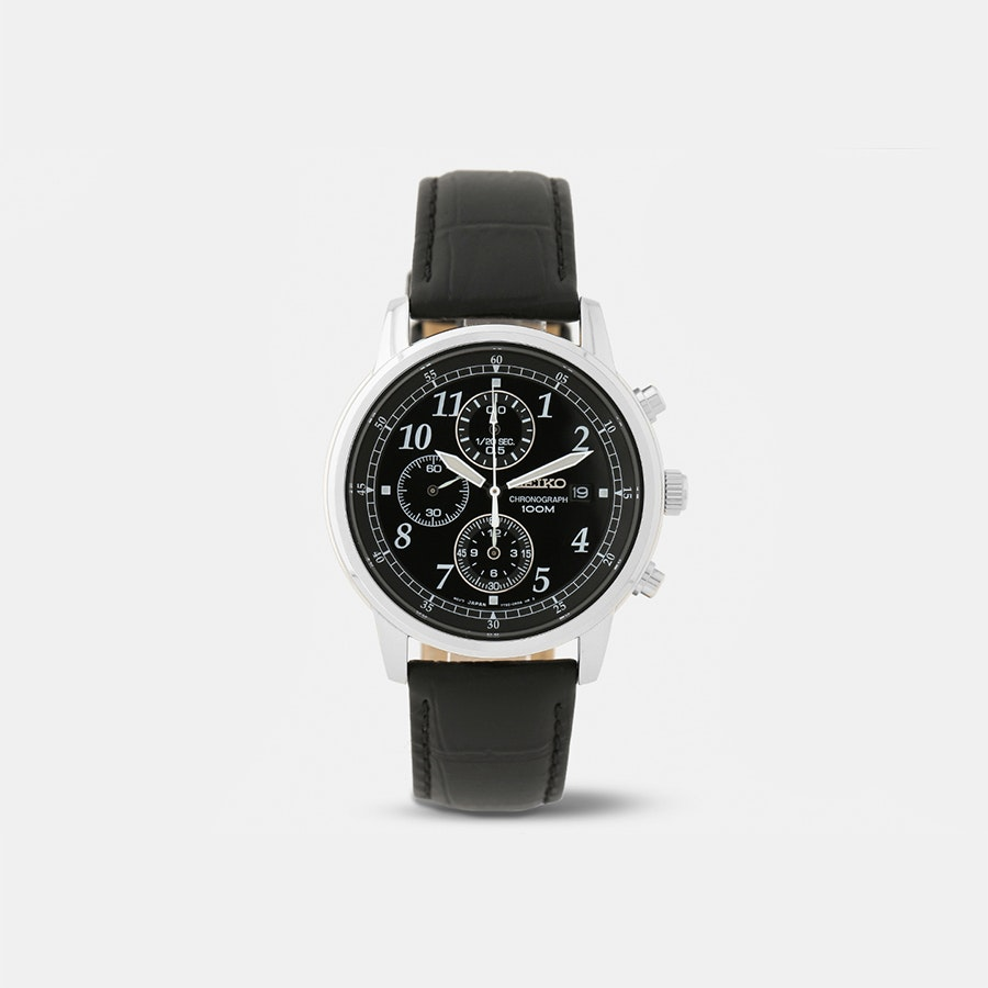 Seiko Classic Chronograph Watch