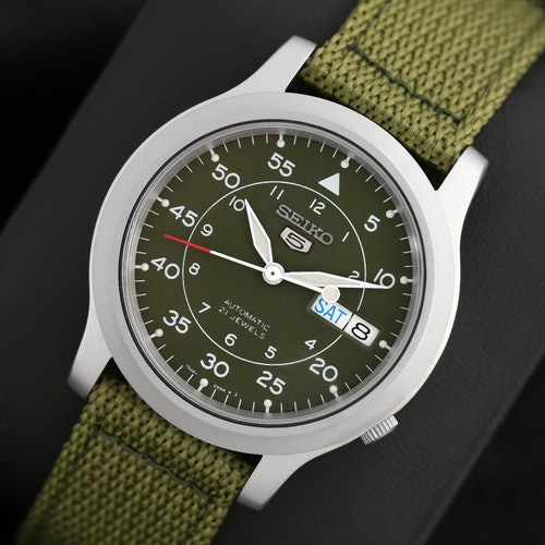 Seiko Flieger Snk Watch Price Reviews Drop Formerly Massdrop