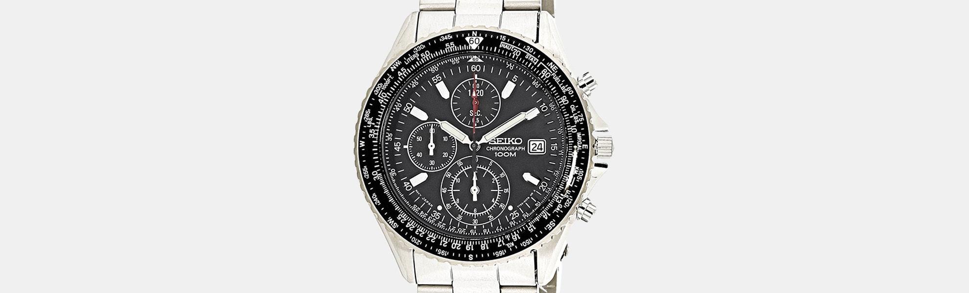 Seiko Flightmaster SND Quartz Watch
