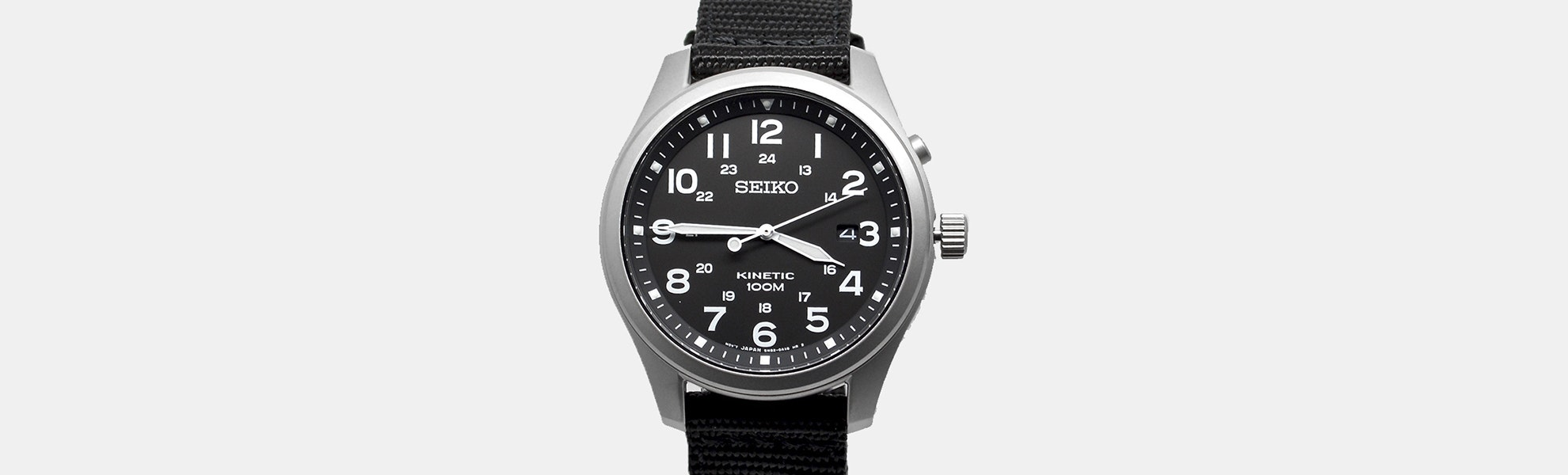 Seiko Kinetic Field Watch