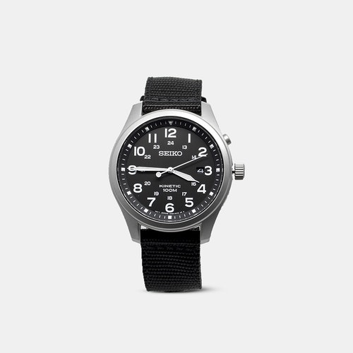 Seiko Kinetic Field Watch | Price & Reviews | Drop (formerly Massdrop)