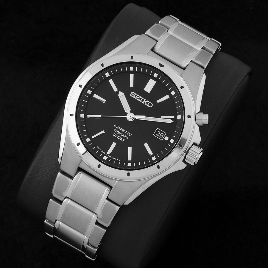 Seiko Kinetic Titanium SKA493P1 Watch
