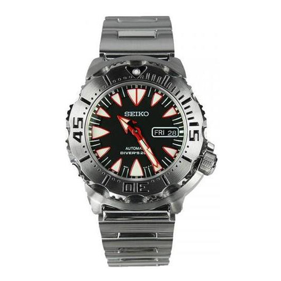 Black/Red, Steel Bracelet SRP313K2