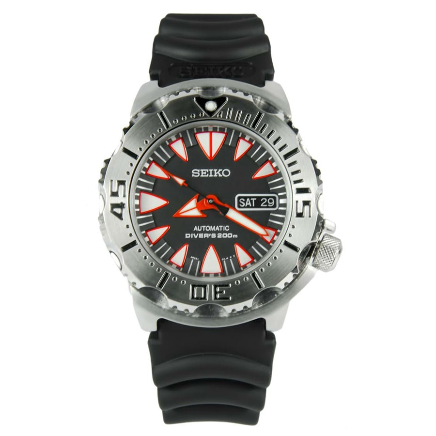 Black/Red, Rubber Strap SRP313
