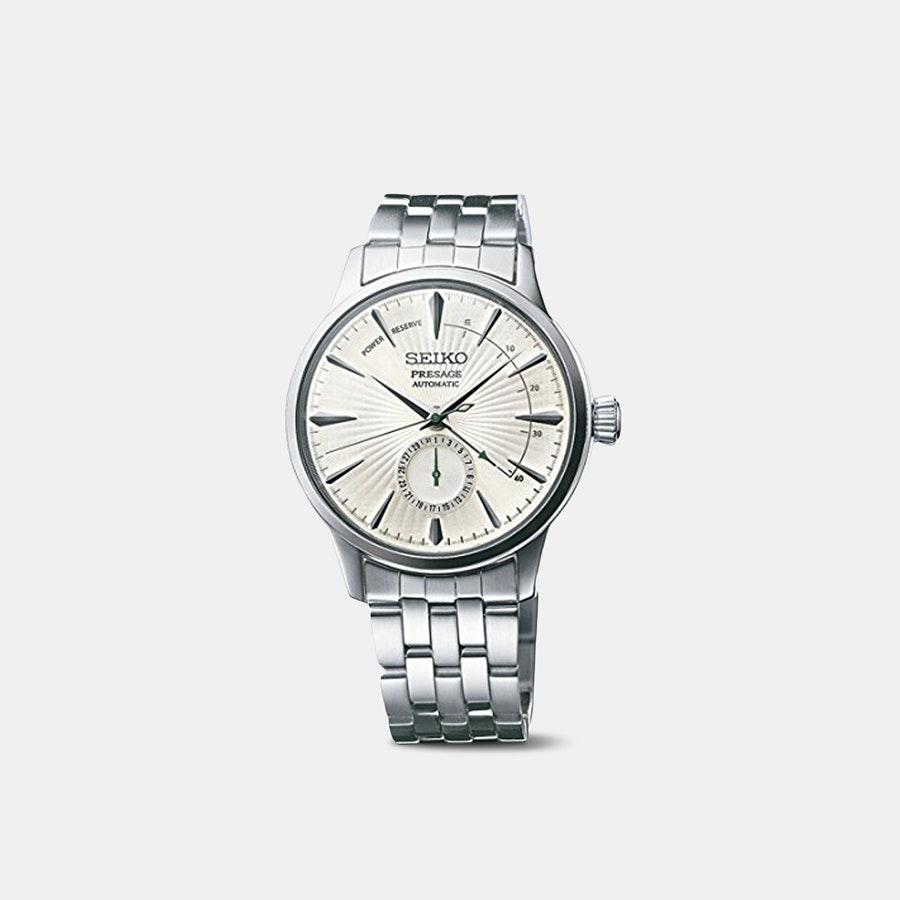 "Seiko Presage ""Cocktail Time"" Power Reserve Watch"
