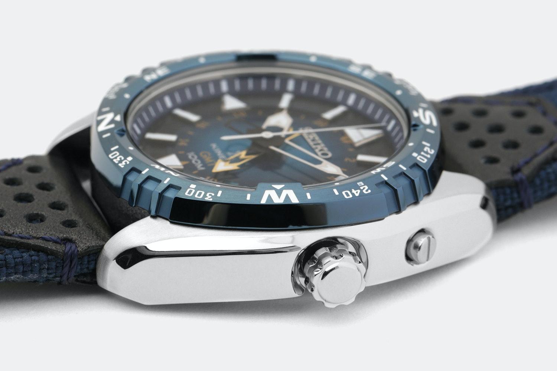Seiko Prospex Kinetic GMT Watch
