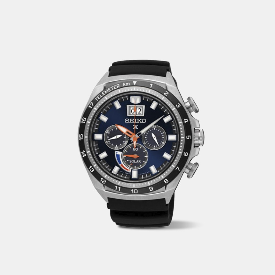 Seiko Prospex Power Reserve Chronograph Solar Watch
