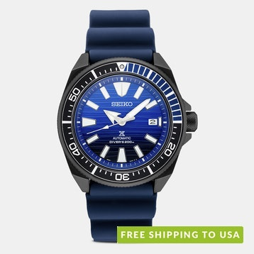 Seiko Prospex Special-Edition Blue Silicone Watch