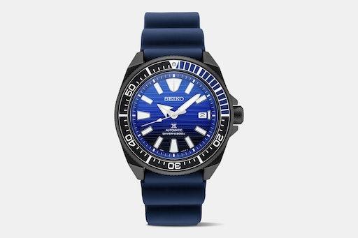 Seiko Prospex Special-Edition Blue Silicone Watch