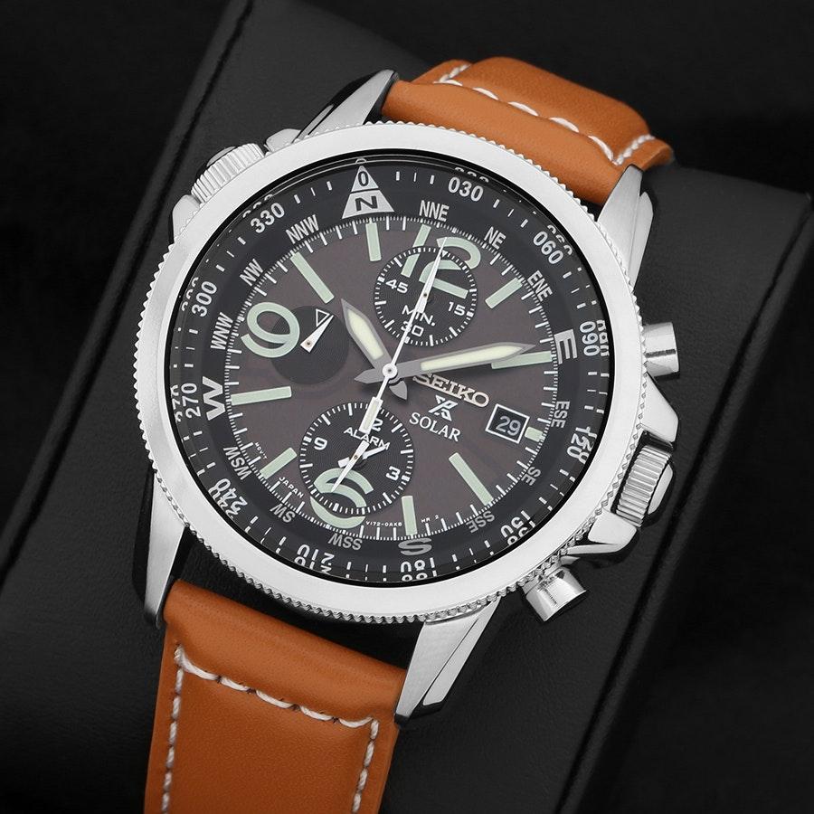 Seiko Prospex SSC Solar Flight Watch