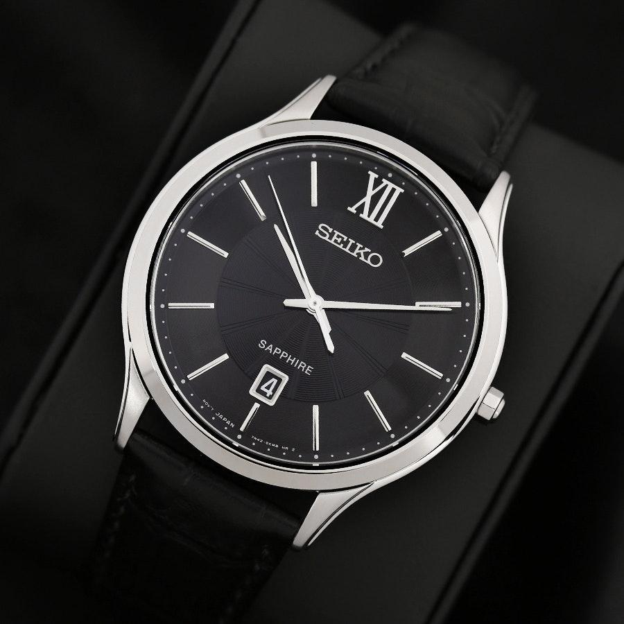 Seiko Sapphire Quartz SGEH Watch
