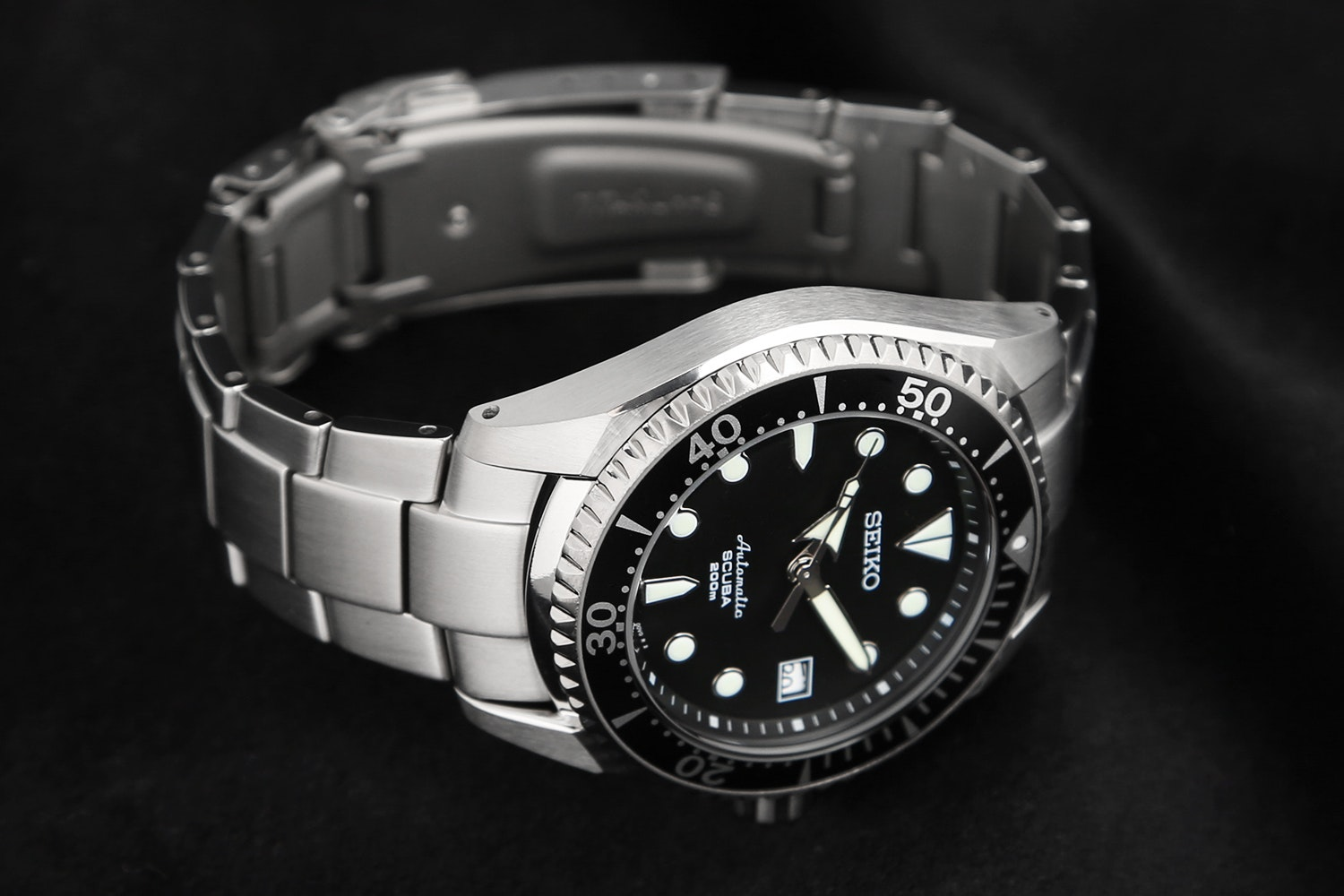 Seiko Shogun Titanium SBDC007 Watch