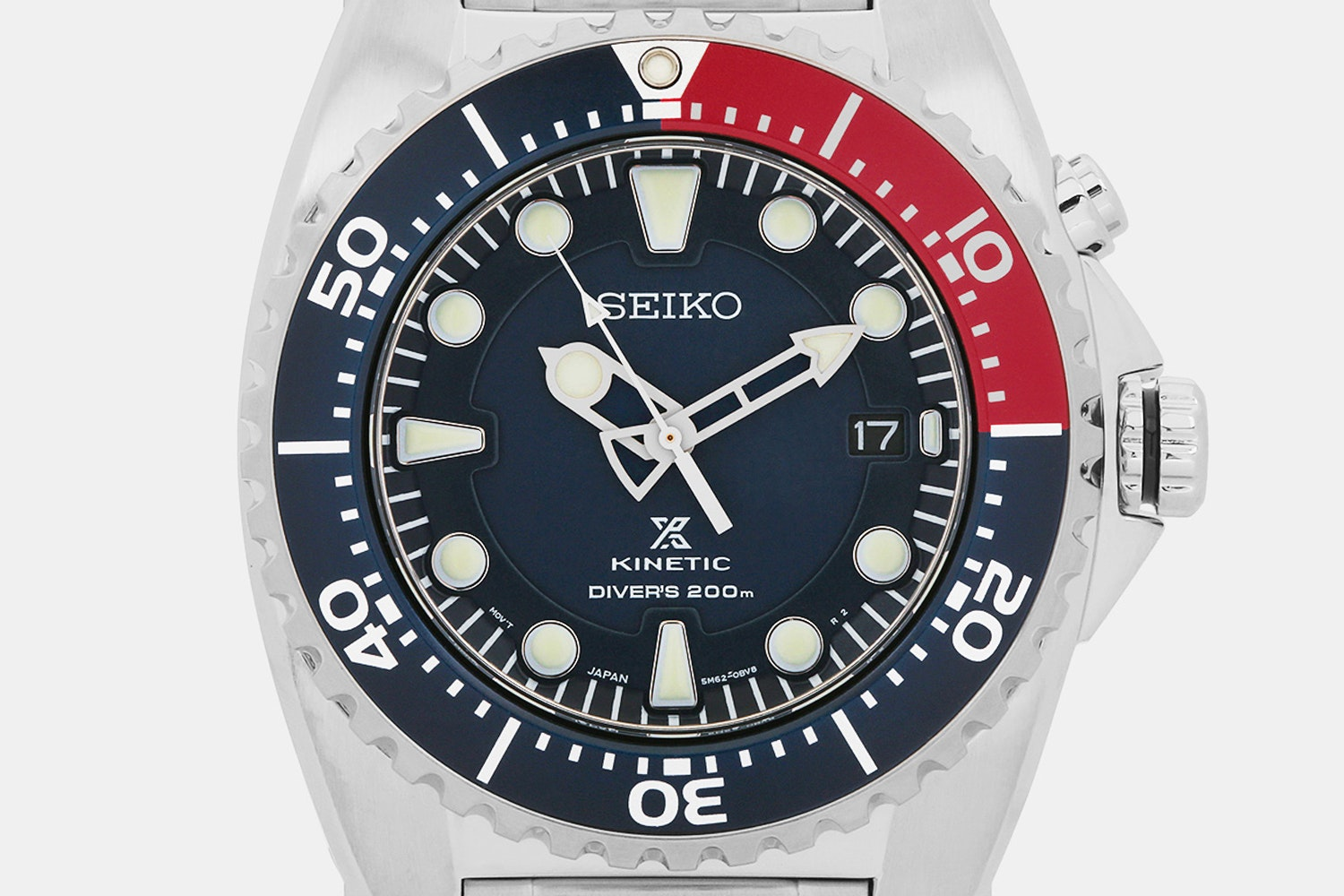 Seiko Prospex Kinetic SKA Watch