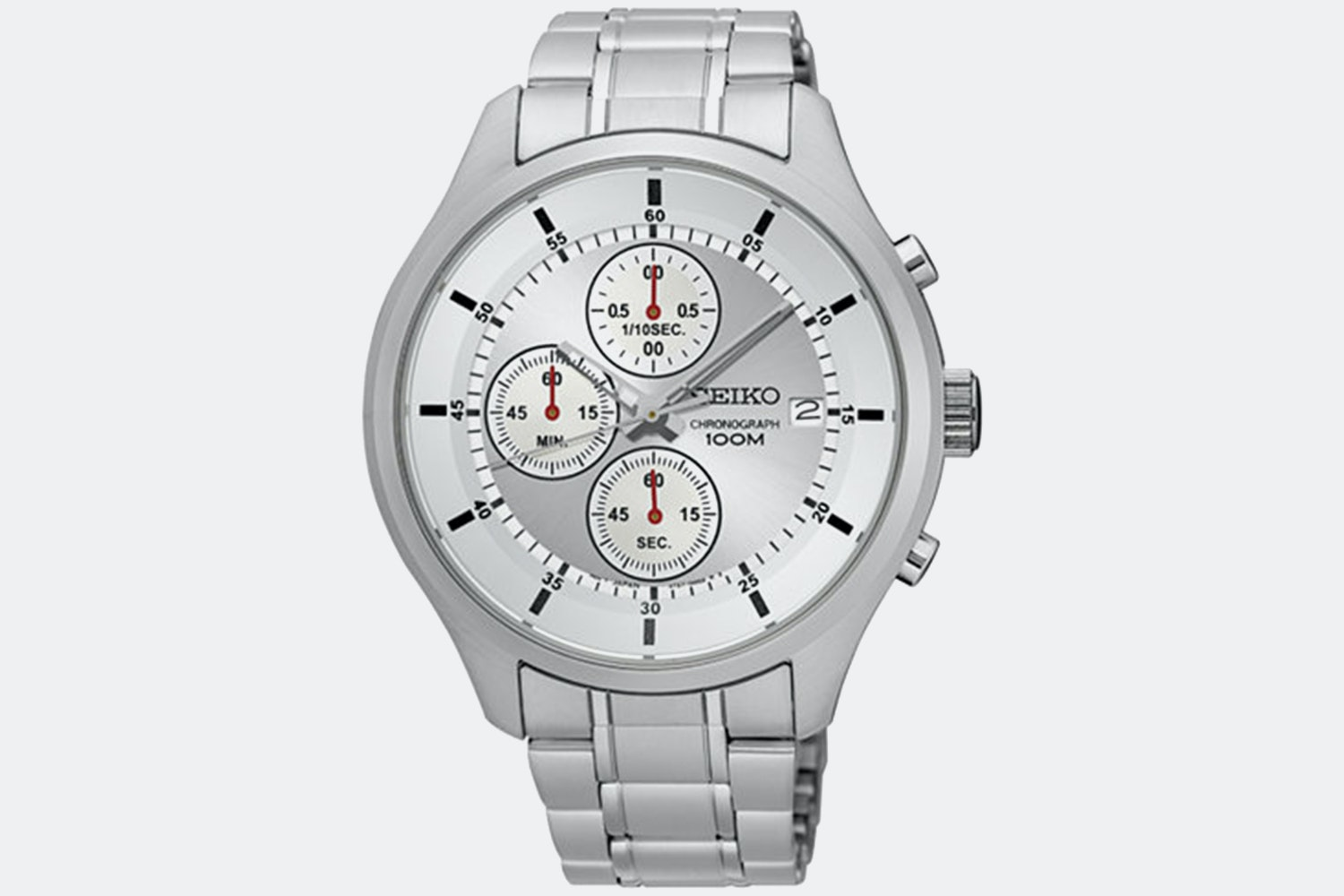 SKS535 | Silver Dial, Stainless Steel Bracelet