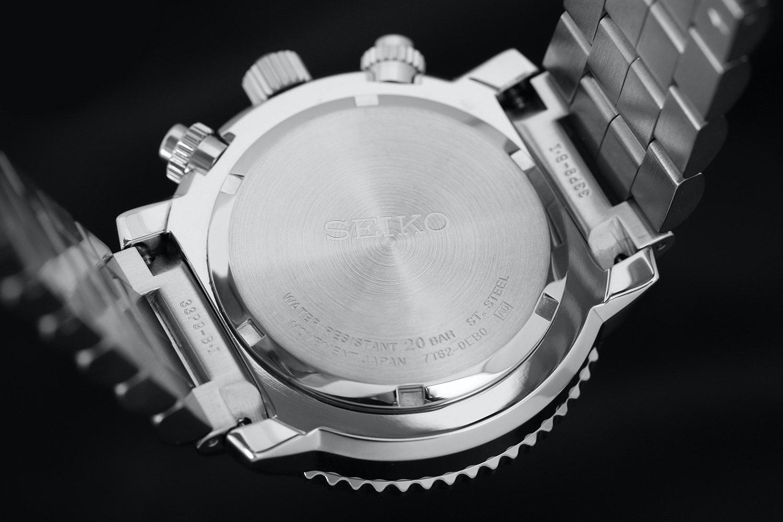 Seiko SNA Flight Alarm Chronograph Watch