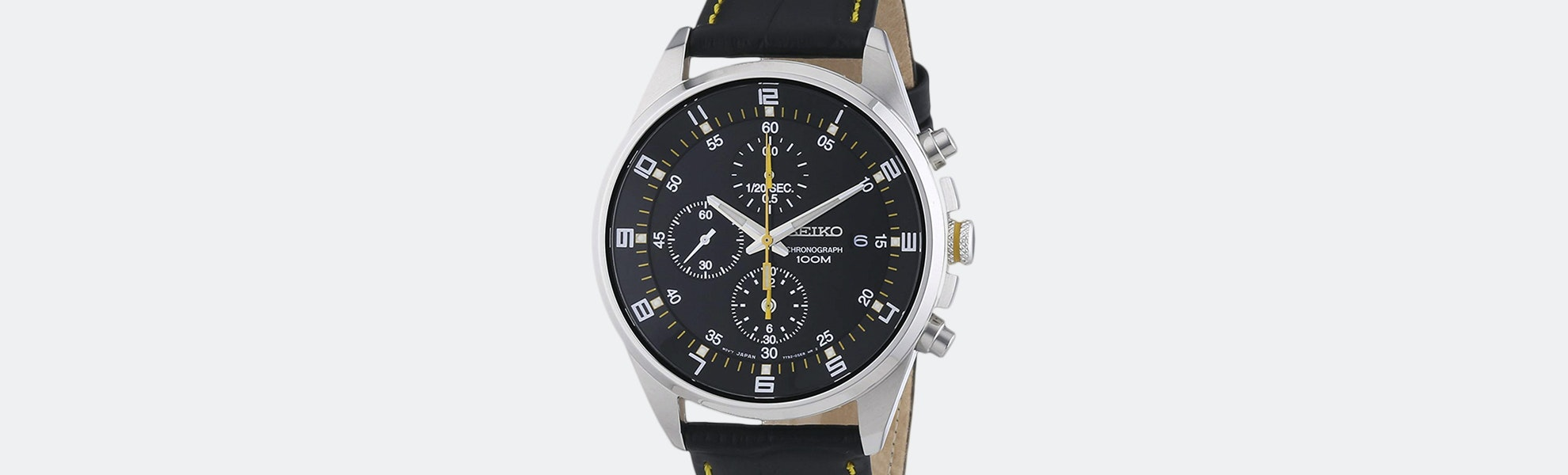Seiko SNDC Chronograph Quartz Watch
