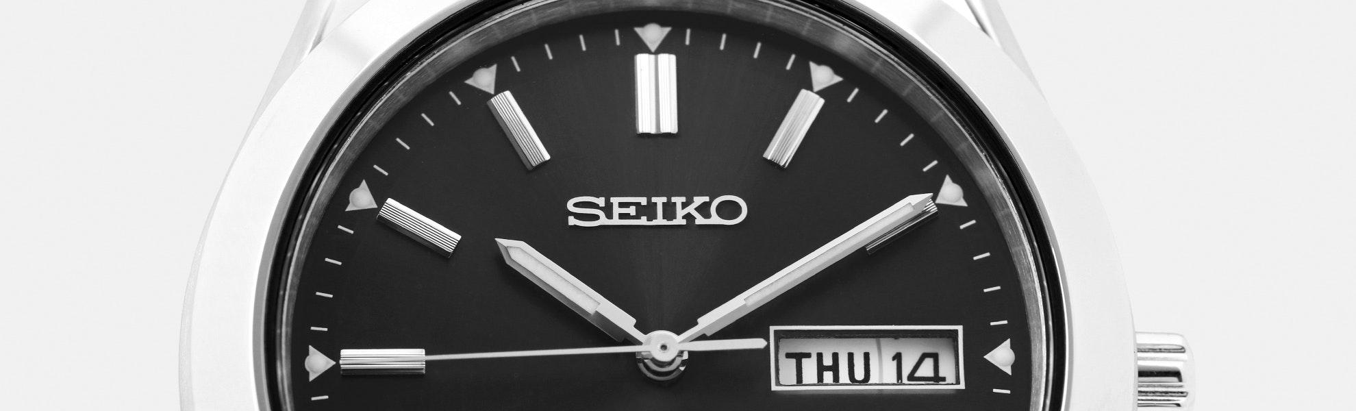 Seiko SNE039 Solar Watch