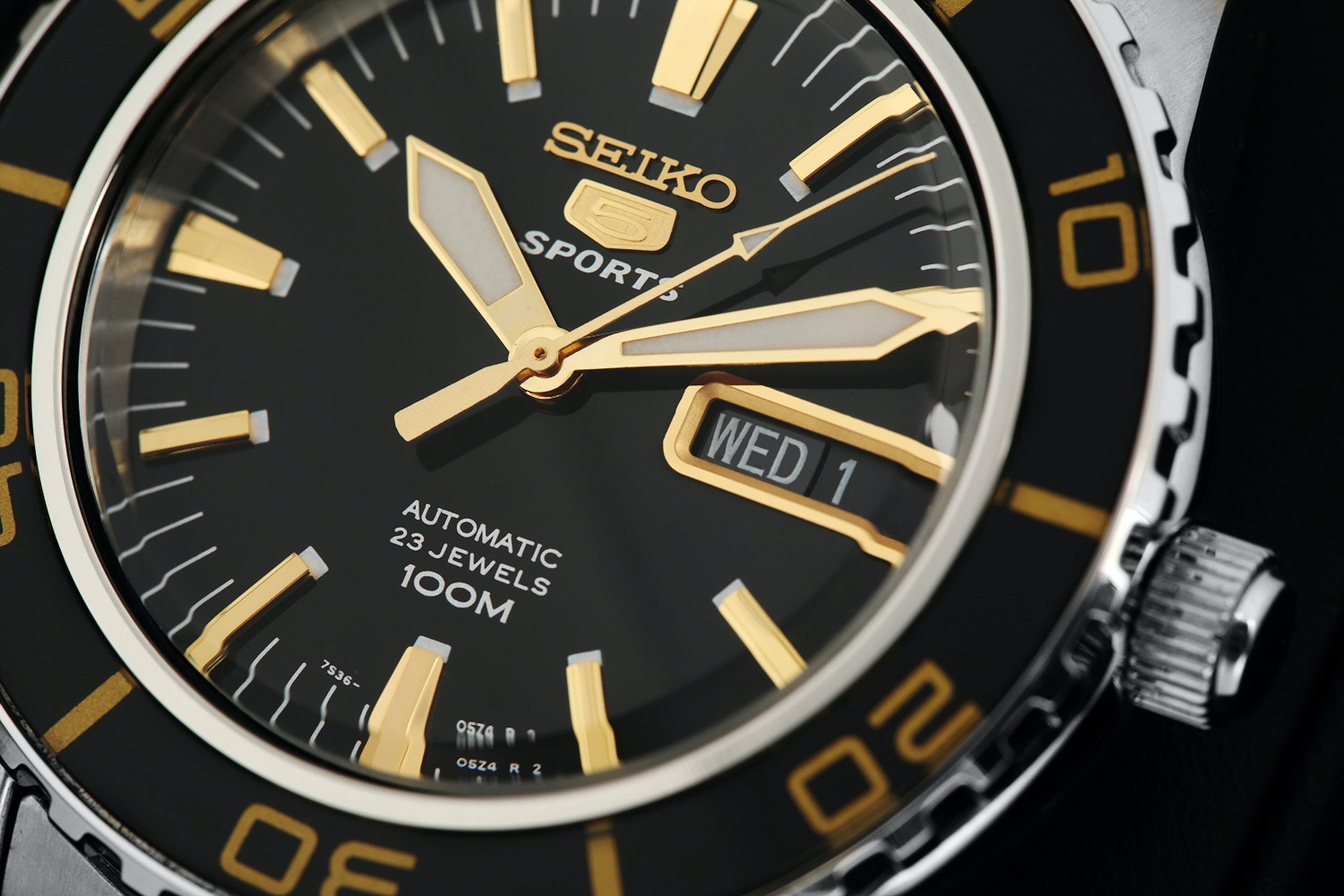 "Seiko ""Fifty Fathoms"" SNZH Watch"