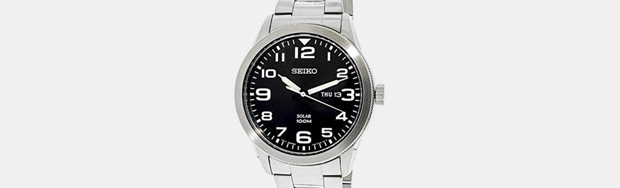 Seiko Sports SNE Solar Watch