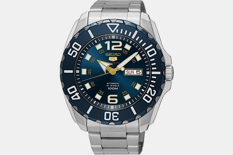 SRPB37K1 | Blue Dial, Blue Bezel, Stainless Steel Bracelet