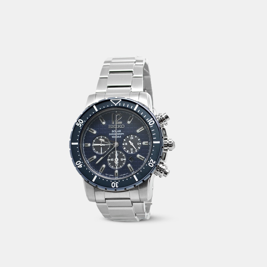 Seiko SSC24X Chronograph Solar Watch