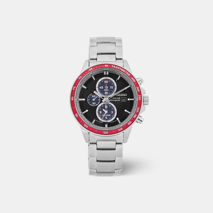 Seiko SSC43X Solar Chronograph Watch
