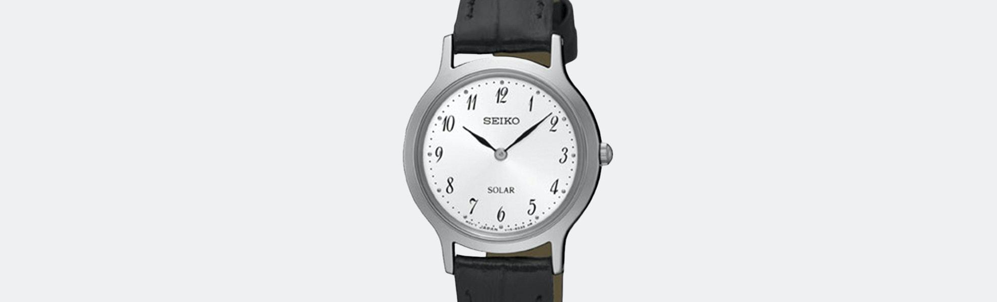 Seiko SUP Solar Ladies' Watch