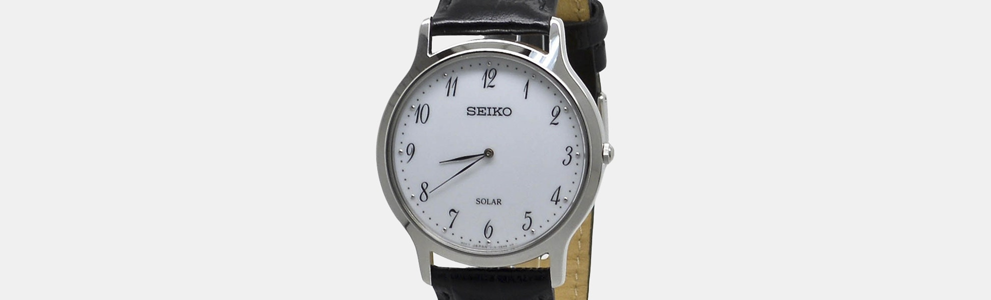 Seiko SUP Solar Watch