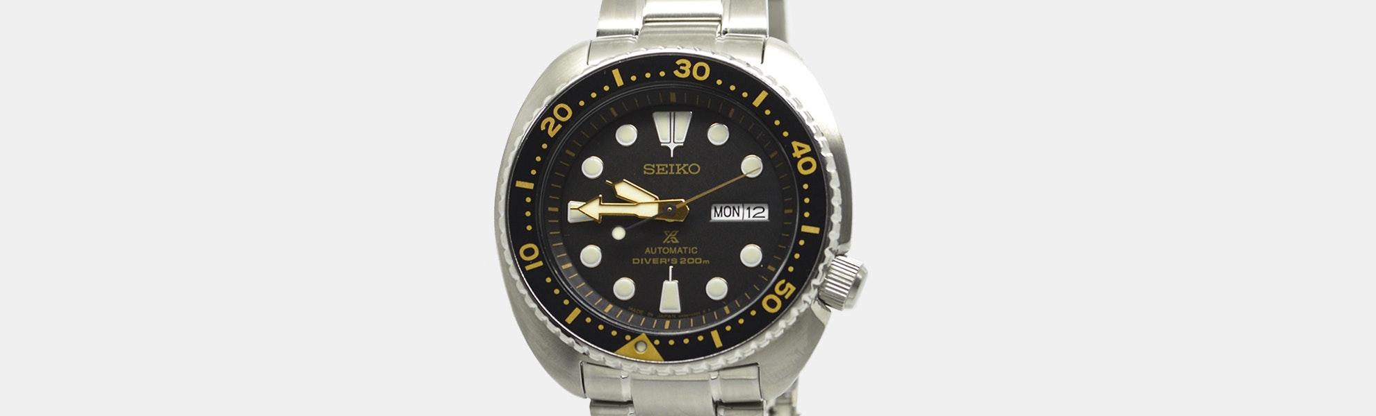 "Seiko ""Turtle"" SRP77X Automatic Watch"