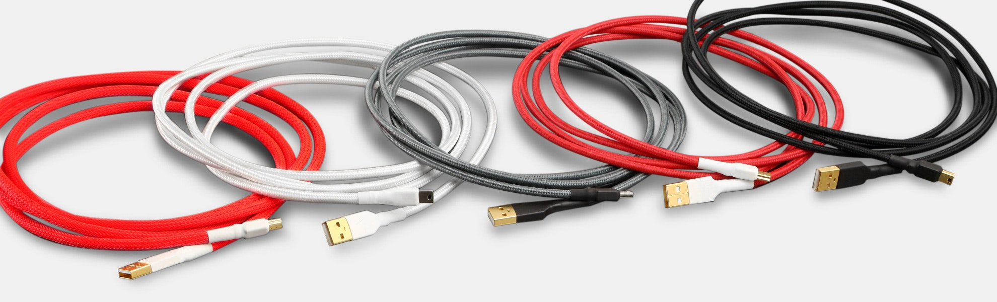 Sentraq Sleeved USB Cables