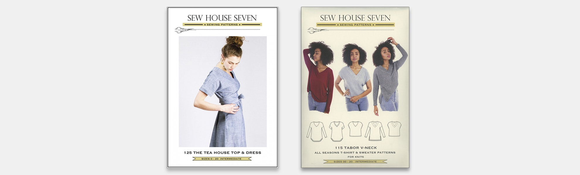 Sew House Seven Garment Patterns (2-Pack)