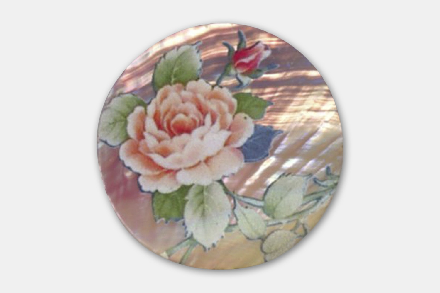 Flora Pink Shell Inlay