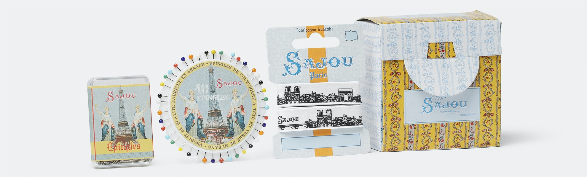 Sewing Pins by Maison Sajou