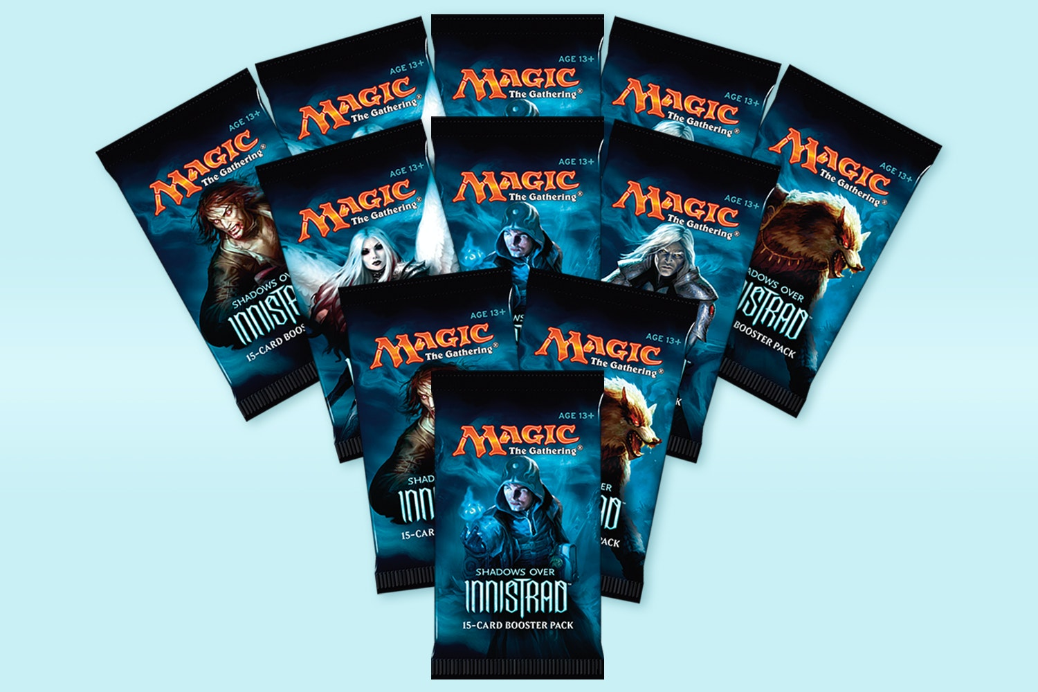 Shadows Over Innistrad Foreign Booster (9-Pack)