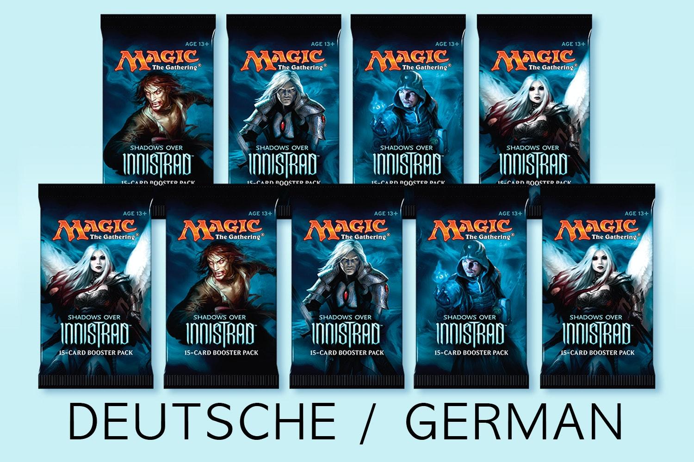 Shadows Over Innistrad German Booster Bundle