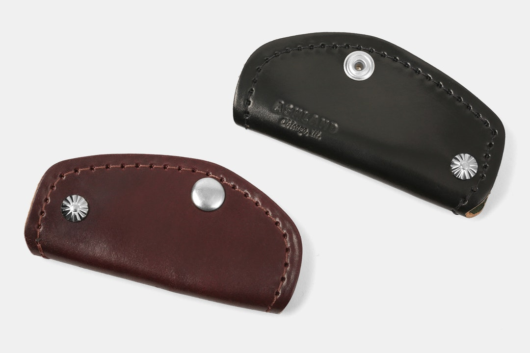 Ashland Leather Shell Cordovan Key Covers