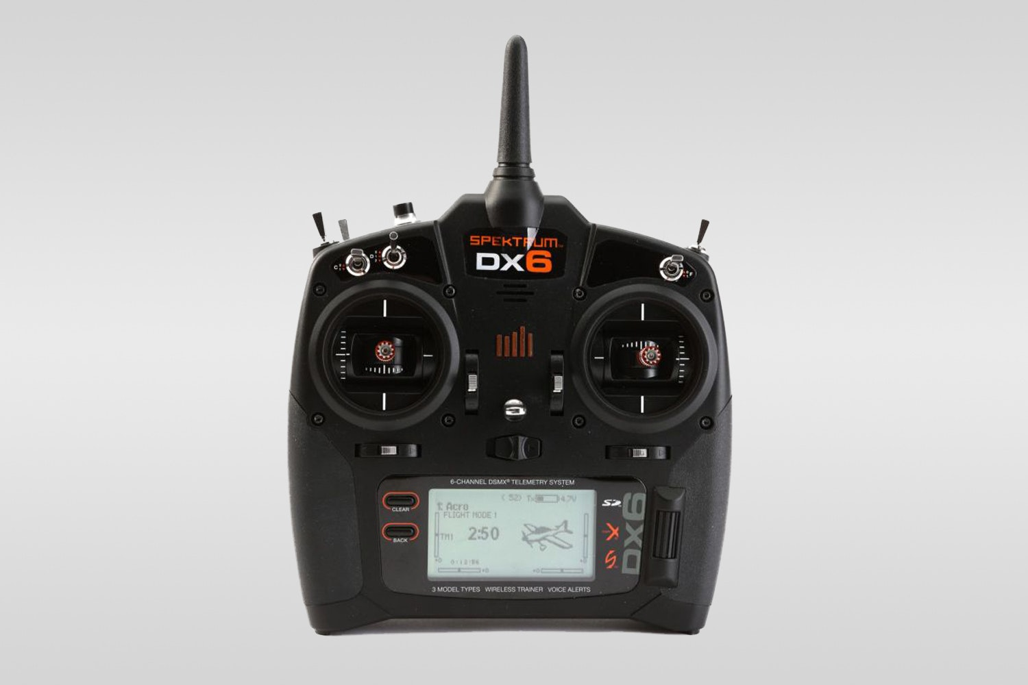 Spektrum DX6 transmitter (+ $200)