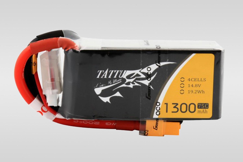 Tattu 4S 1300 75C LiPo battery