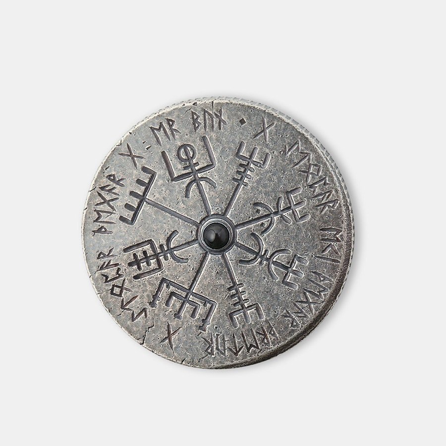 Shire Post Mint Vegvisir Norse Compass Spinner