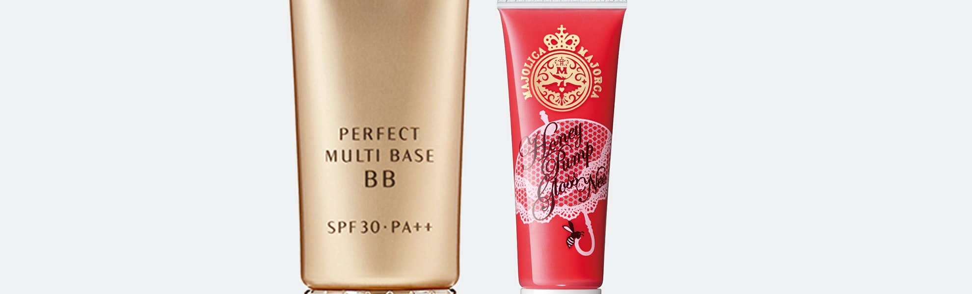 Shiseido Perfect Multi Base BB & Majolica Lip Gloss
