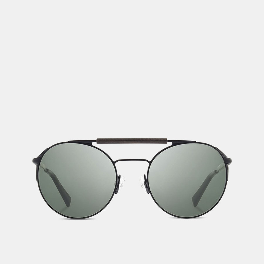 Shwood Bandon Polarized Titanium Sunglasses
