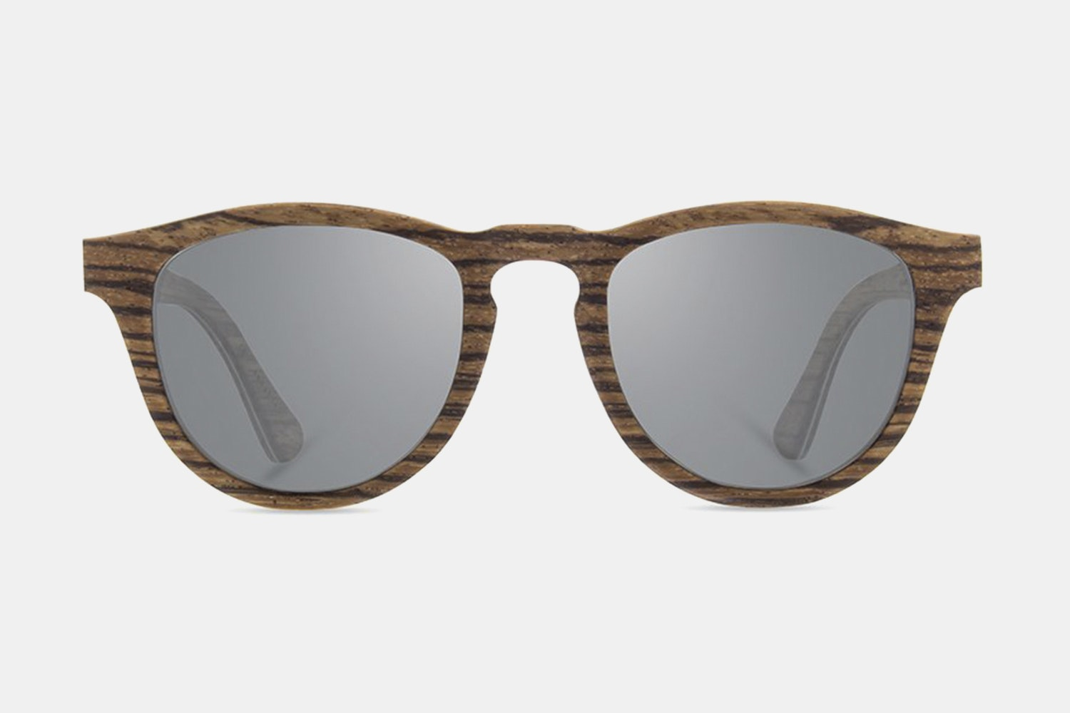 Zebrawood - Gray Polarized